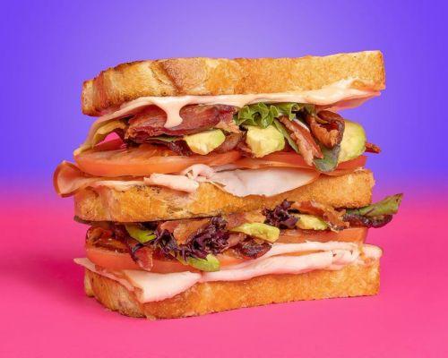 healthy ingredients sandwich food