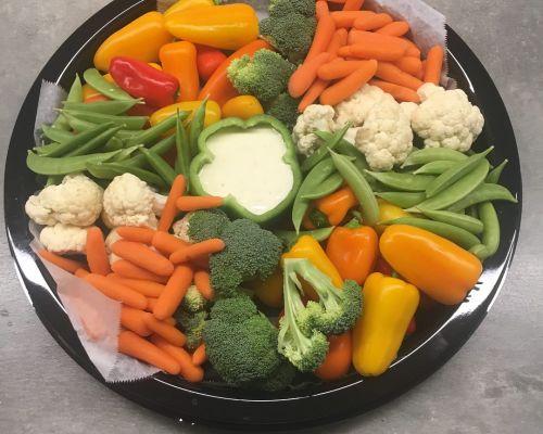 veggie platter office catering cordova