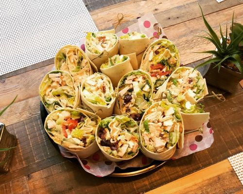 wrap platter corporate catering chicago top caterers