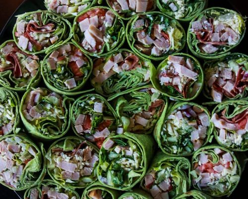 wrap platter grab-go catering