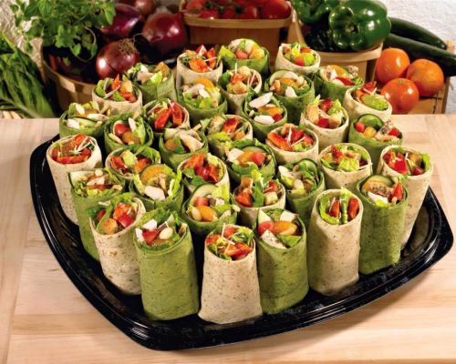 wrap platter office meals