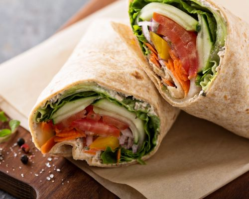 wrap platter corporate catering