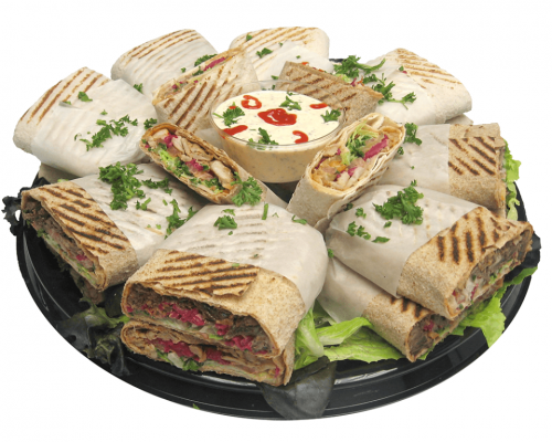 wrap tray sandwich platter meals