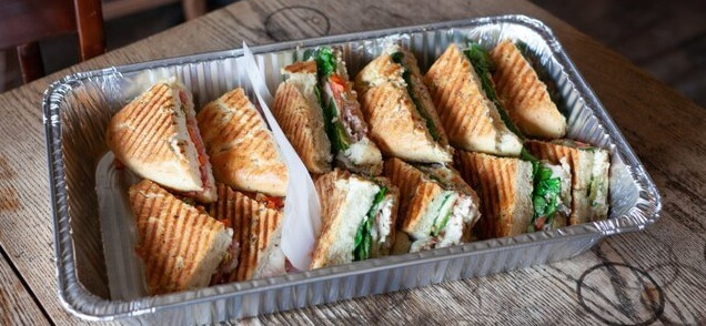 Assorted Hot Sandwiches