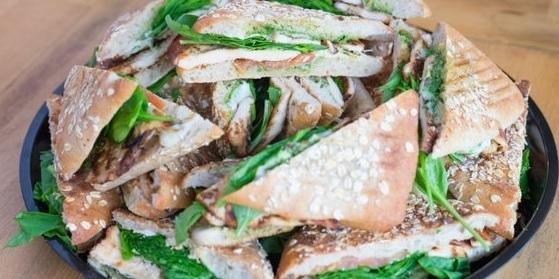 Assorted Panini Sandwich Tray