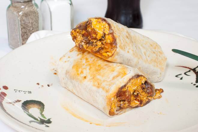 Bacon Breakfast Burrito