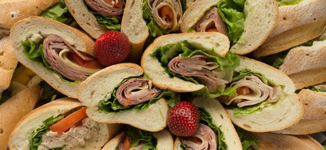 Baguette Sandwich Tray