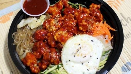 BBQ Chicken Bibimbap