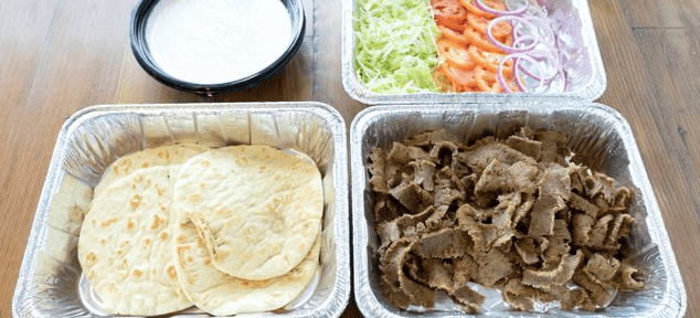 Build-Your-Own Pita Bar