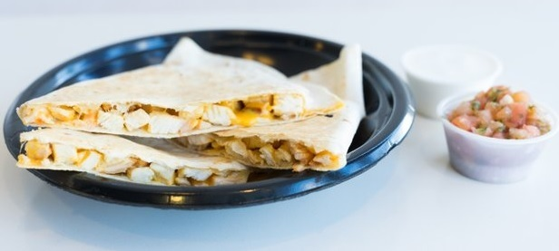 Chicken Cheesadilla