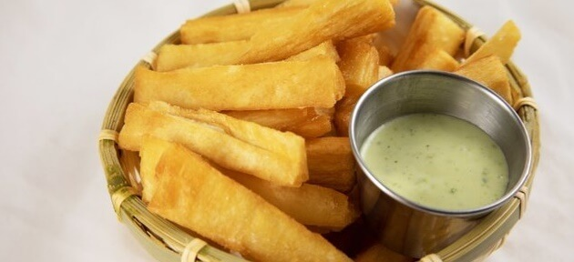 Crispy Fried Yuca