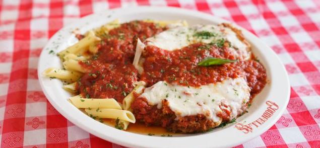 Gluten-Free Chicken Parmigiana