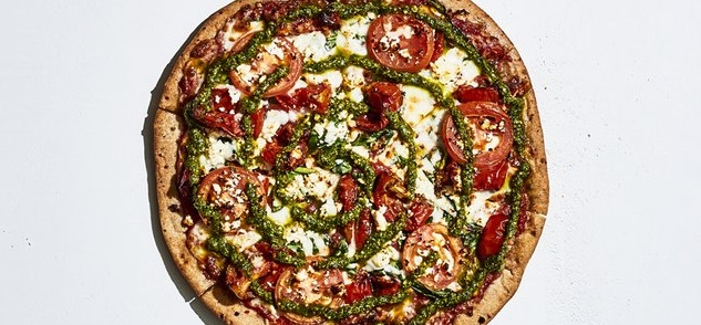 Gluten-Free Kosmic Karma Pizza