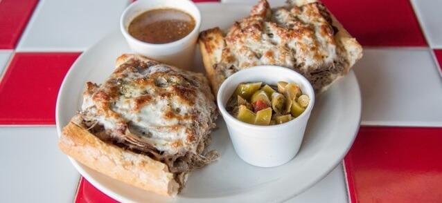 Italian Beef Sandwich Tray