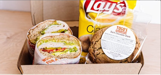 "Large 9"" Sandwich Boxed Lunch"