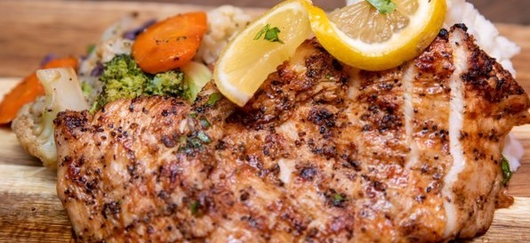 Lemon Marinated Grilled Chicken Boxed Lunch