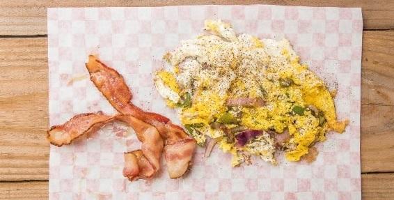 O' Scrambled Eggs & Meat