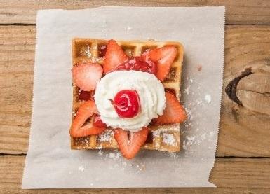 O' Strawberry Waffle