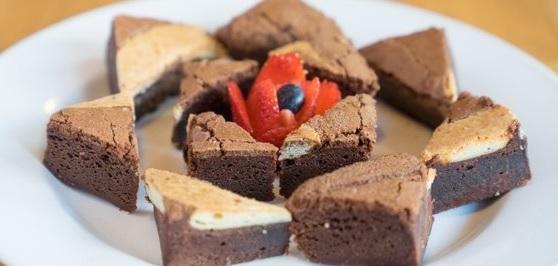 Pita Grill Brownies
