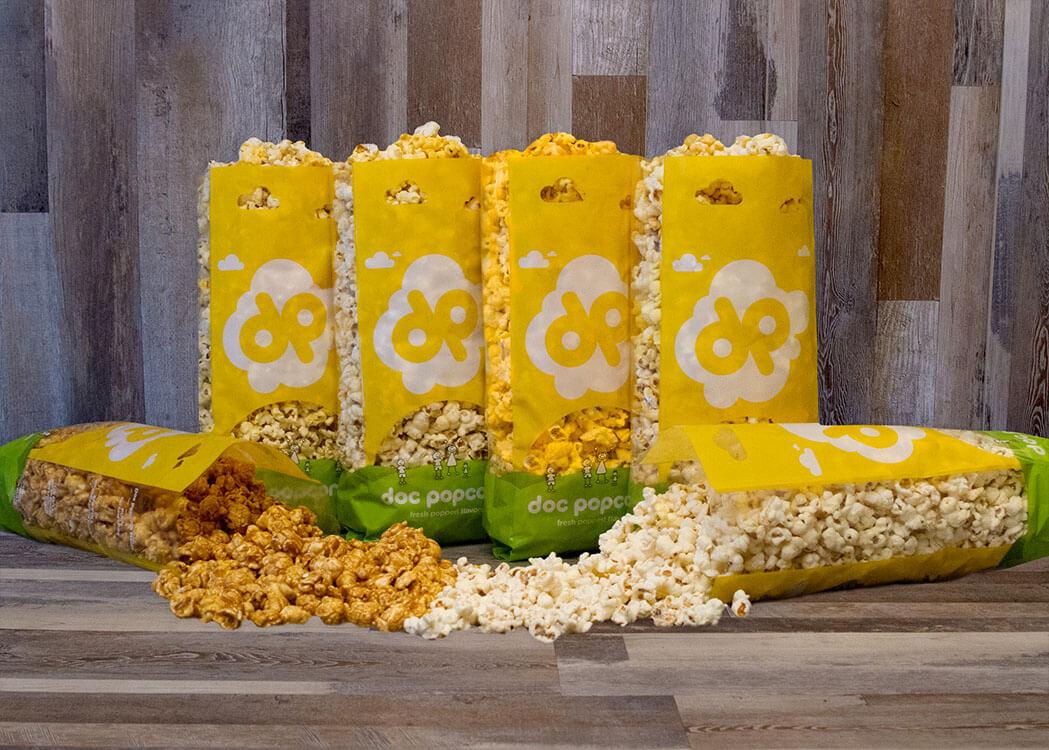 Doc Popcorn Bags