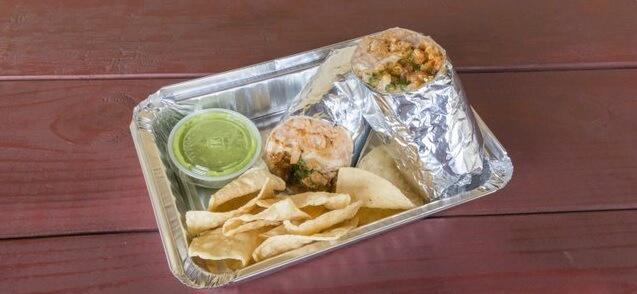Regular Burrito Boxed Lunch