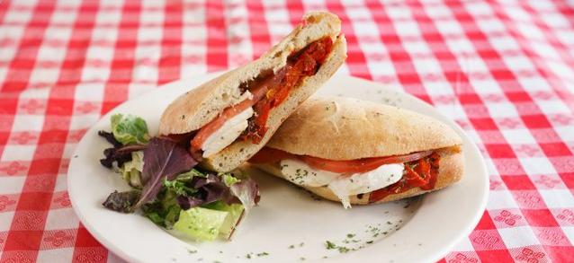 Rustic Sandwich Tray