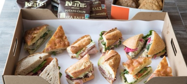 Sandwich & Salad Lunch Package for 5