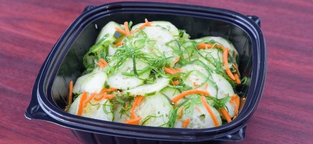 Seaweed & Cucumber Salad