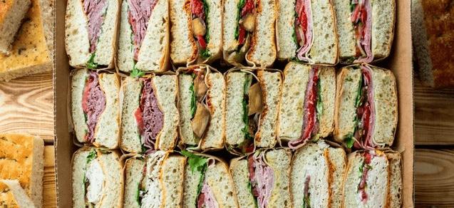 Signature Focaccia Sandwich Tray