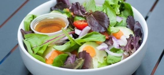 Simple Leaf Salad