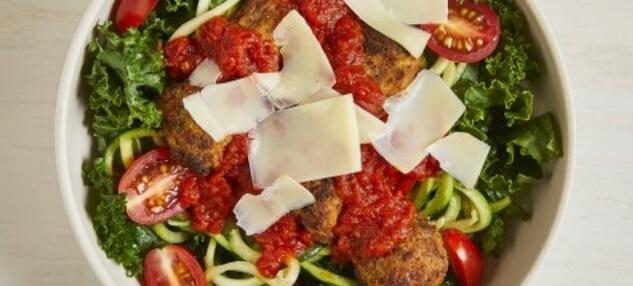 Spaghetti & Meatballs Bowl