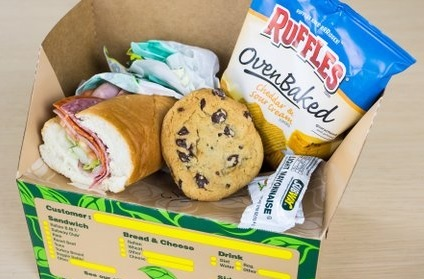 SUBWAY to GO Box Meal