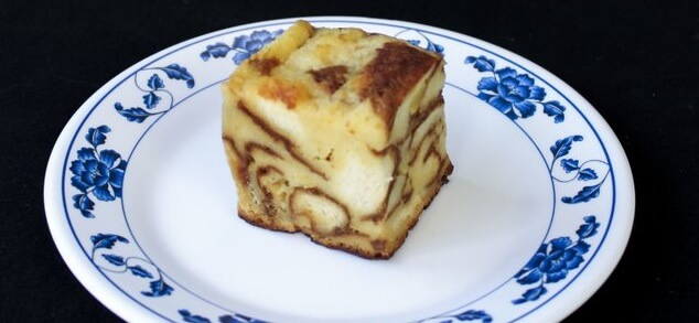 Sweet Pineapple Bread Pudding