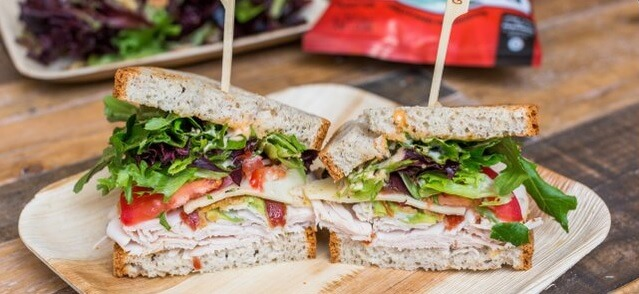 The Nohea Mixer Gluten-Free Sandwich Basket
