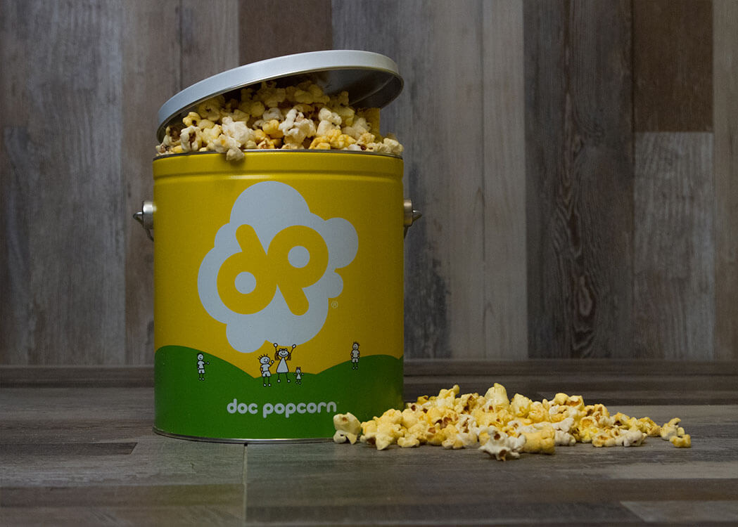 Doc Popcorn Tiny Tins