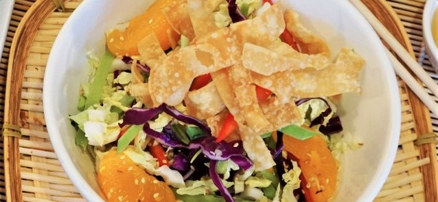 Wonton Crush Salad