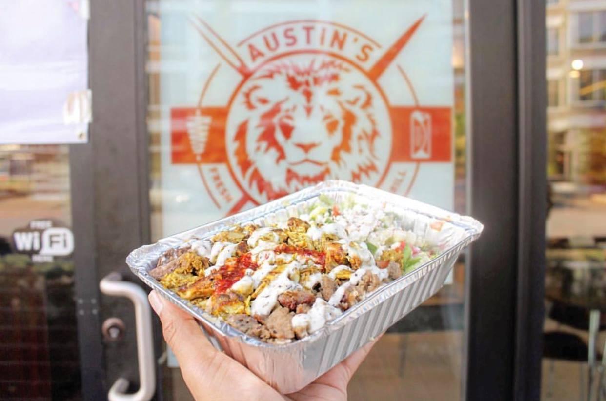 Austin's Habibi Austin catering