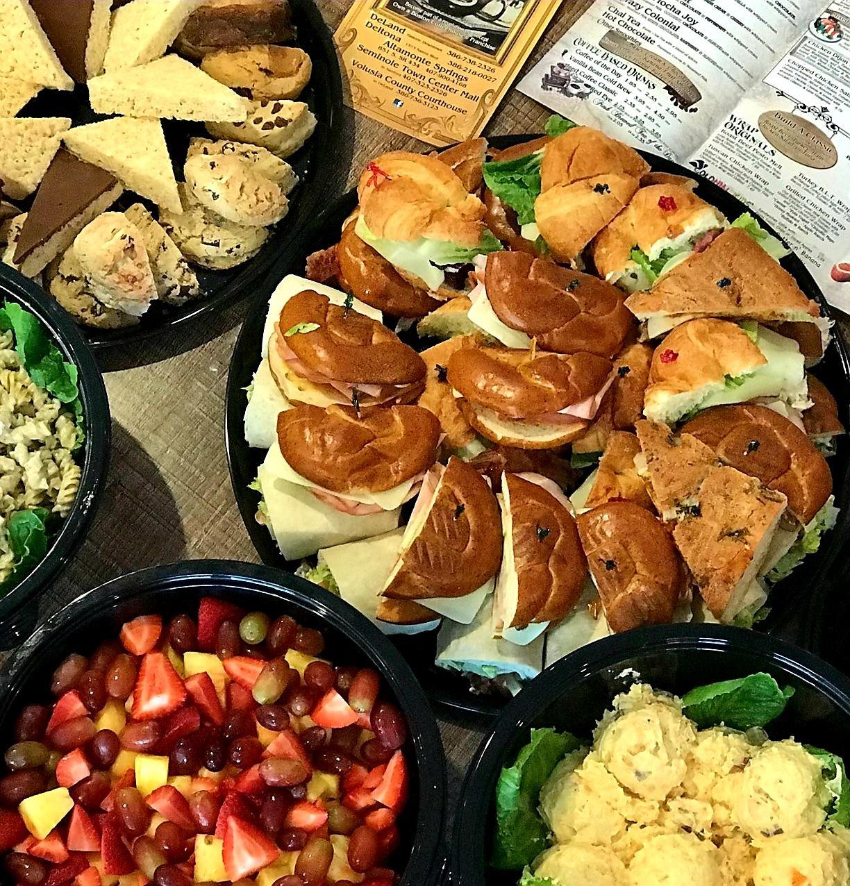 Boston Coffeehouse Altamonte Springs catering