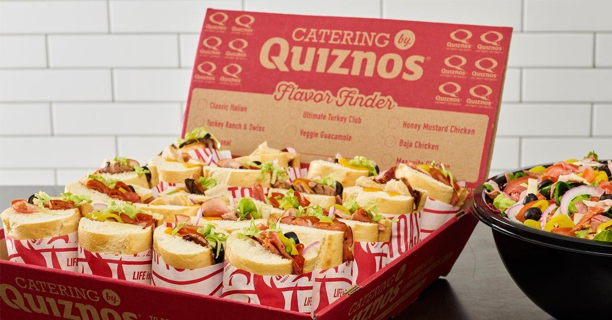 Quiznos Houston catering