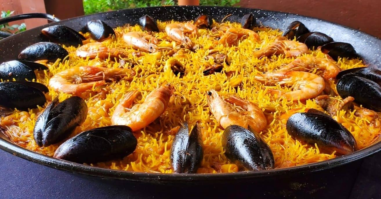 Tasty Paella Catering Richardson catering