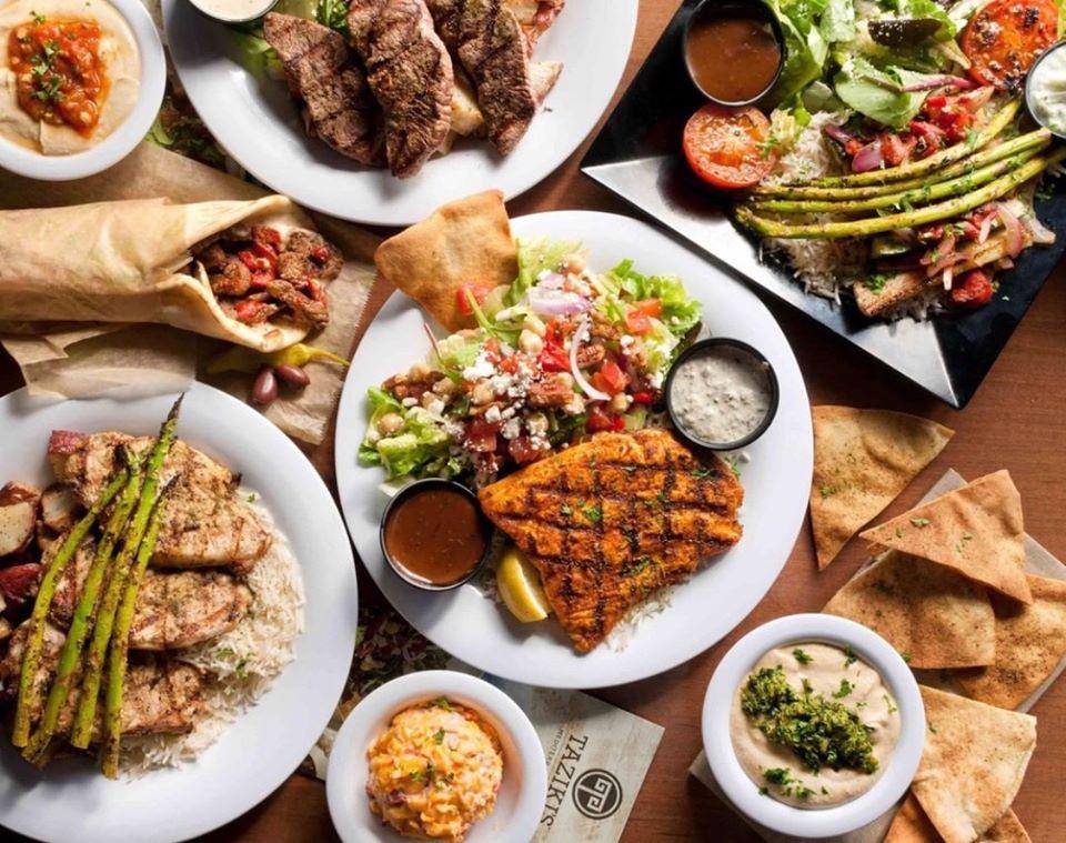 Taziki's Mediterranean Cafe Southlake catering