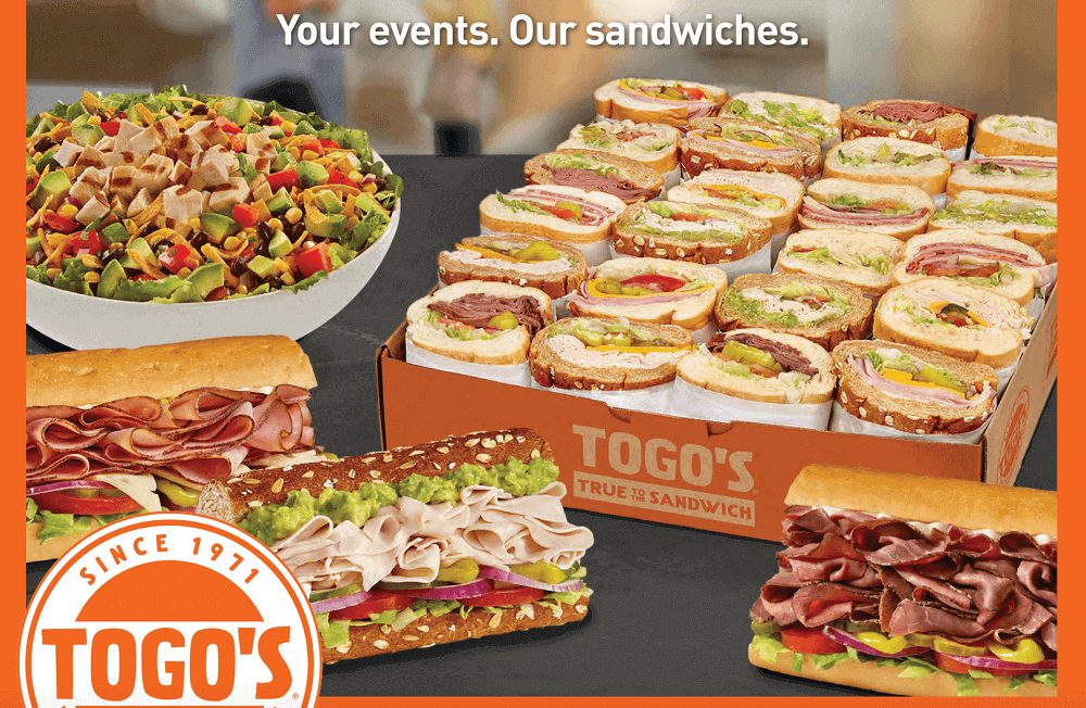 Togo's Sandwiches Sunnyvale catering