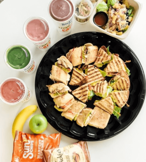 Tropical Smoothie Cafe Tampa catering