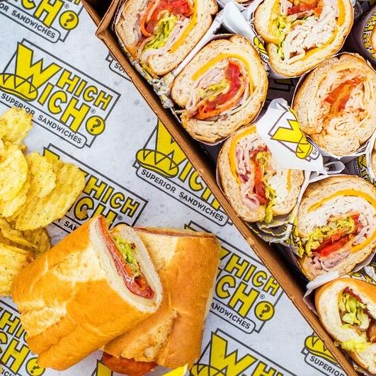 Which Wich Superior Sandwiches Lakeland catering